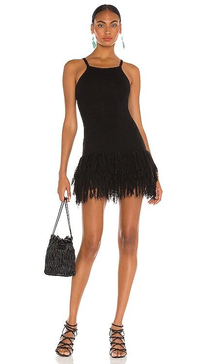 Fringe Mini Dress JoosTricot $740 NEW