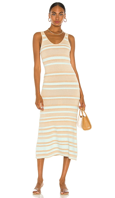 Linen Tank Dress JoosTricot $675 NEW
