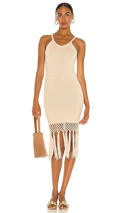 Tassels Midi Dress JoosTricot $875 Sustainable