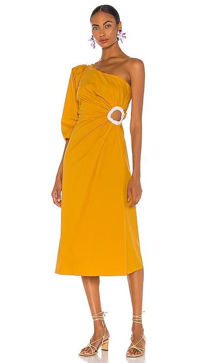 Refulgence Of Stars Midi Dress Johanna Ortiz $510