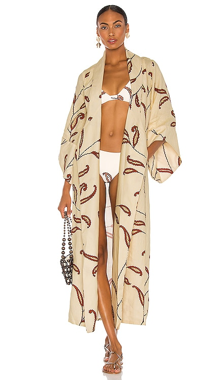 Ecru Soul Quest Kimono Johanna Ortiz $995