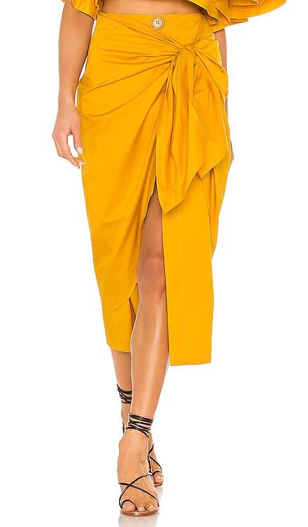 Fresh Lemon Skirt Johanna Ortiz $238