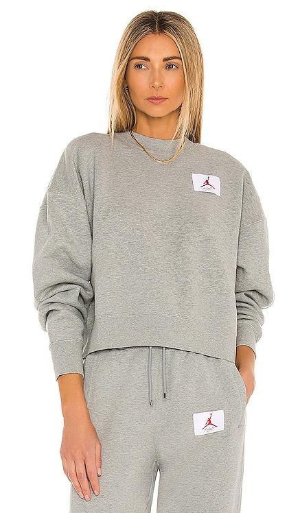 Flight Fleece Crew Sweatshirt Jordan $85 BEST SELLER