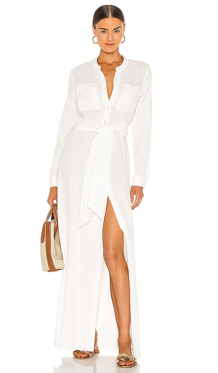 Ester Shirt Dress JONATHAN SIMKHAI $395 NEW