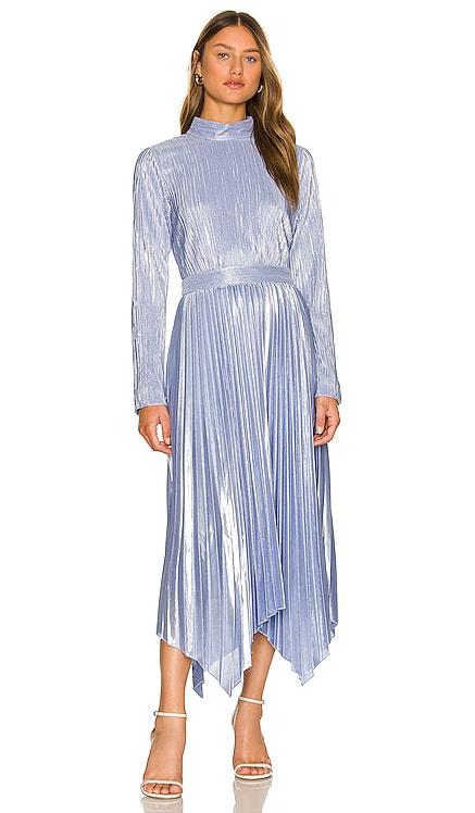 Lydia Twist Back Midi Dress JONATHAN SIMKHAI $595 BEST SELLER