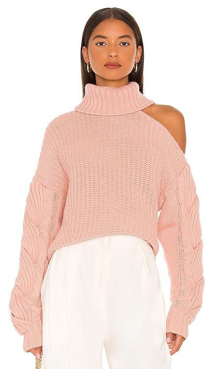 Aubrey Cable Sweater JONATHAN SIMKHAI $385 NEW