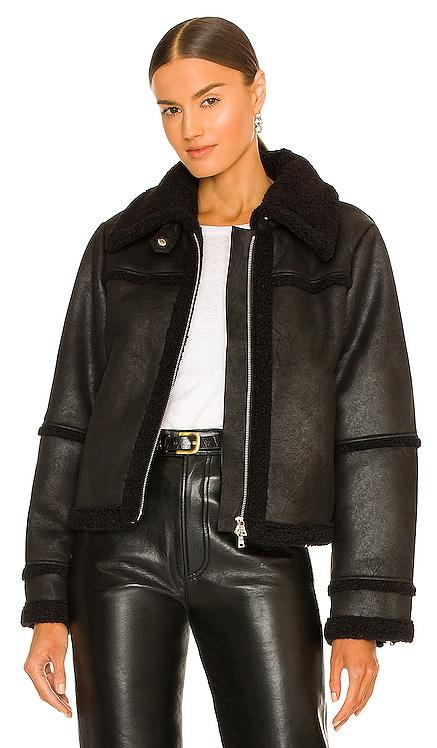 Akira Sherpa Jacket JONATHAN SIMKHAI $595 NEW