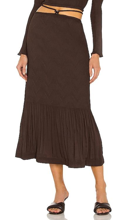 Mia Tie Waist Skirt JONATHAN SIMKHAI $295 Sustainable