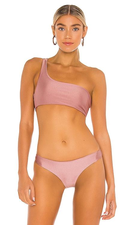 Apex One Shoulder Bikini Top JADE SWIM $90