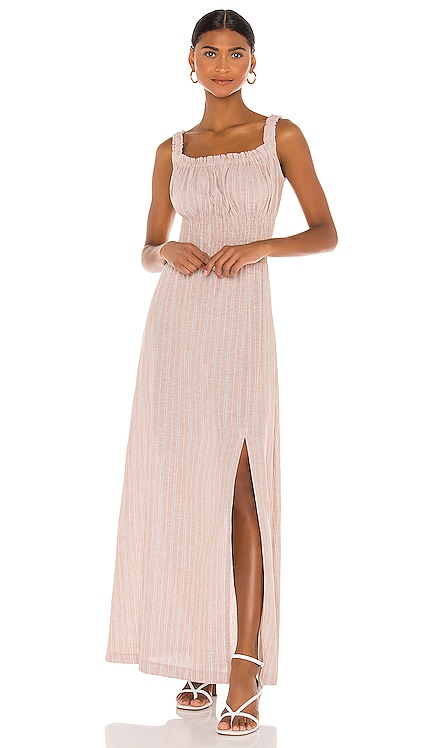 Maya Midi Dress THE JETSET DIARIES $220