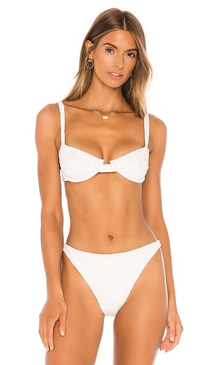 Izzy Bikini Top Juillet $108 NEW ARRIVAL