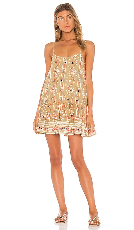 Nomad Print Cami Dress juliet dunn $168