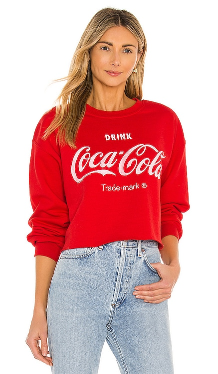 Coca Cola Cropped Fleece Junk Food $40