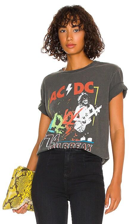 AC/DC '74 Jailbreak Tee Junk Food $44 NEW