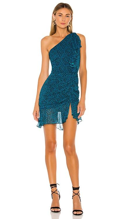 Tana Print Mini Dress Karina Grimaldi $163