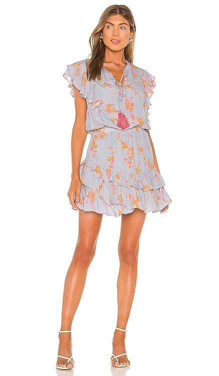 Rafa Print Mini Dress Karina Grimaldi $169