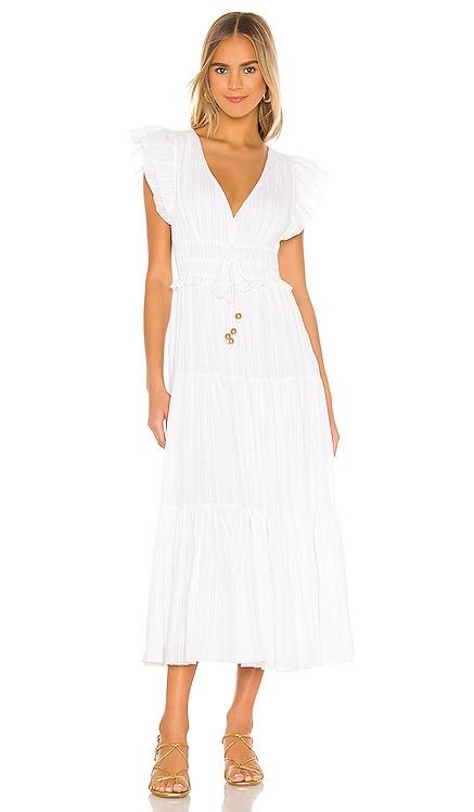 Karla Metallic Dress Karina Grimaldi $284