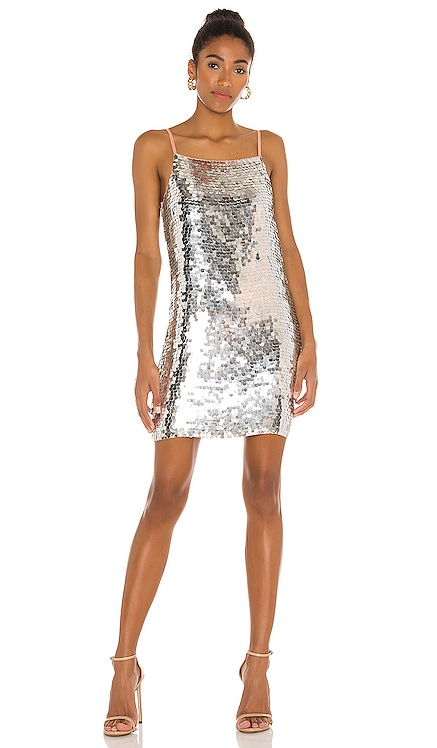 Martina Beaded Mini Dress Karina Grimaldi $262