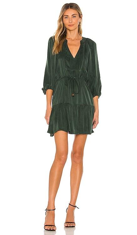 Tanna Solid Mini Dress Karina Grimaldi $306 NEW