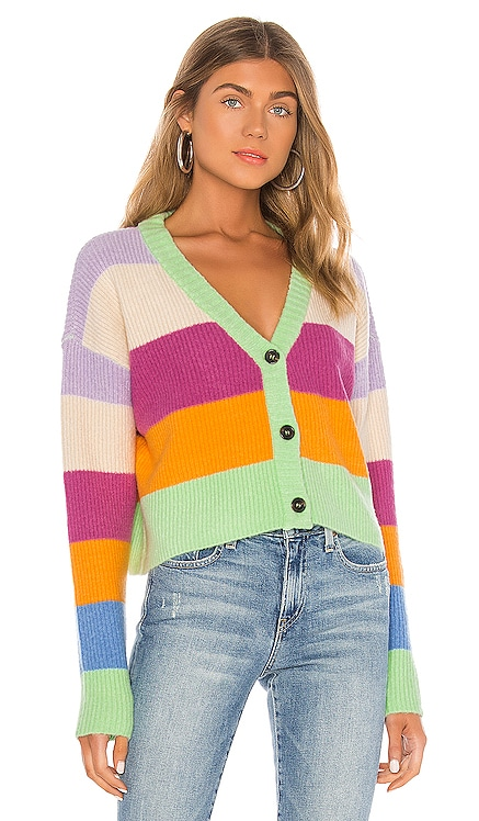 STRIPED カーディガン KENDALL + KYLIE $69
