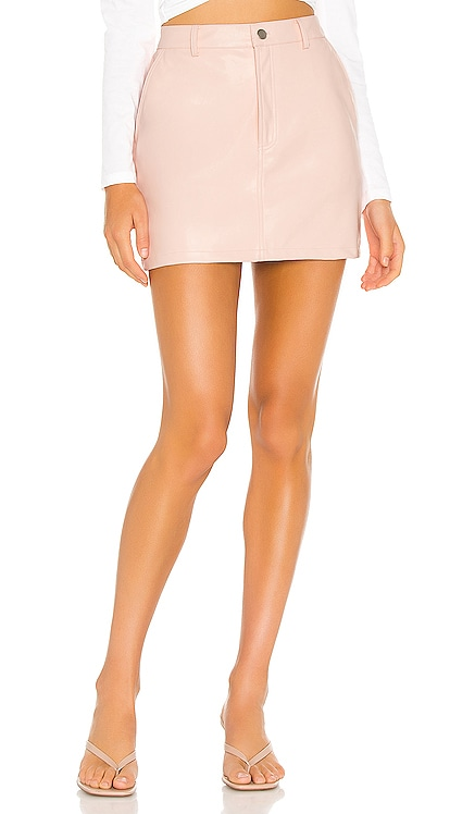 Vegan Leather Mini Skirt KENDALL + KYLIE $49