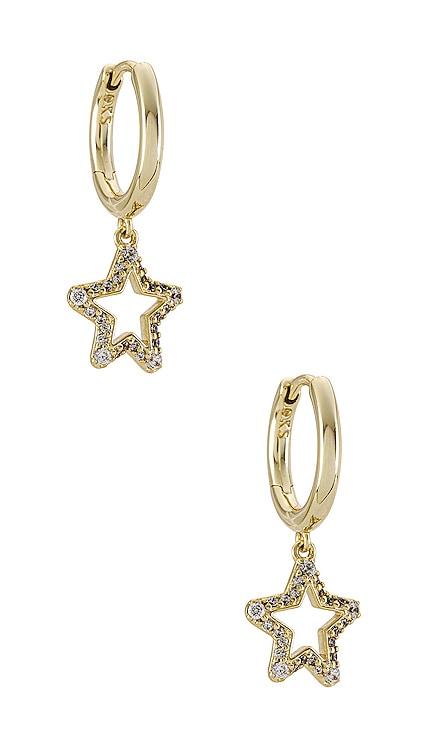 Jae Star Crystal Huggie Earrings Kendra Scott $50 NEW