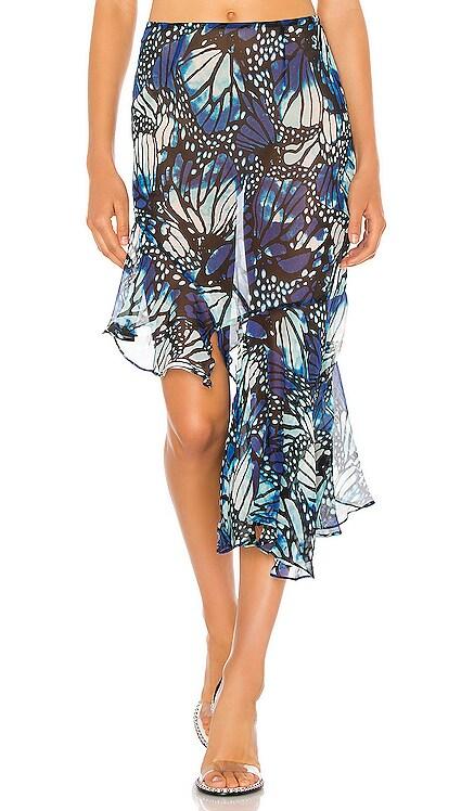 Butterfly Chiffon Skirt Kim Shui $245 NEW