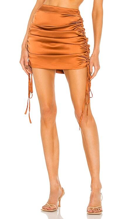 Silk Ruched Skirt Kim Shui $245