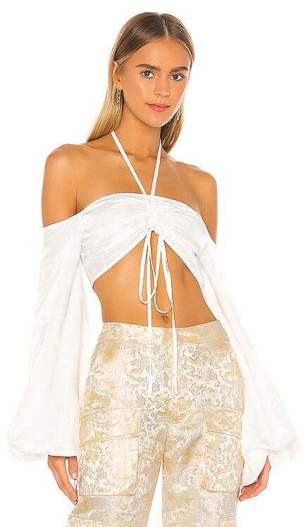 Silk Crop Top Kim Shui $250