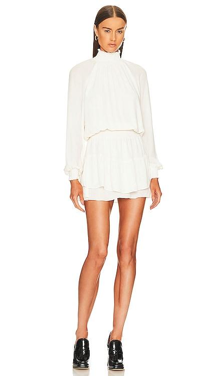 Smocked Turtleneck Dress krisa $194 BEST SELLER