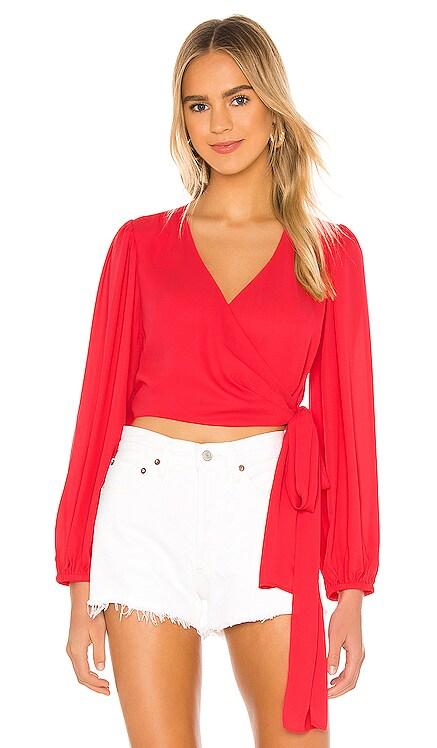 Wrap Long Sleeve Blouse krisa $96