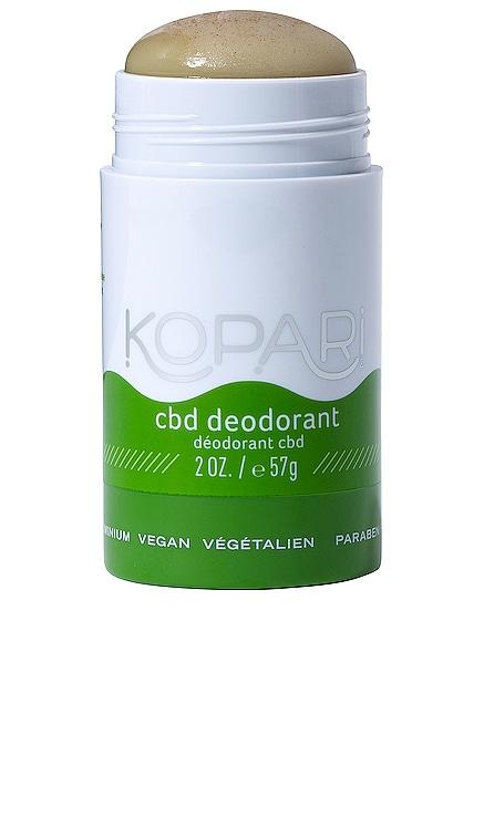 CBD 데오도란트 Kopari $18