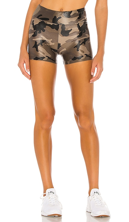 Hot High Rise Infinity Shorts KORAL $65
