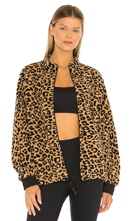Montana Sherpa Faux Fur Jacket KORAL $265