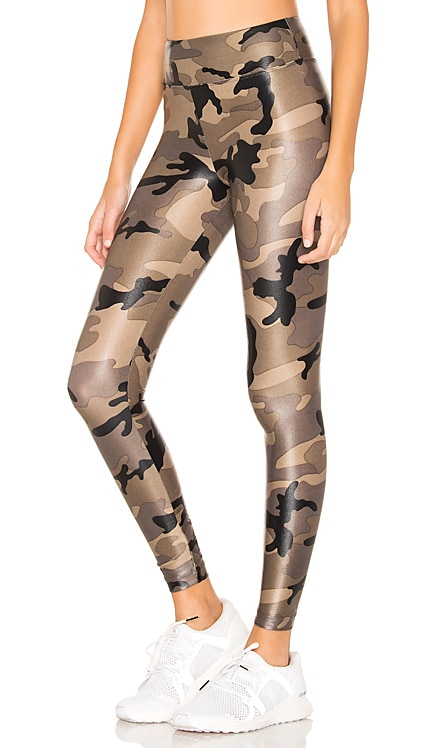 Lustrous High Rise Legging KORAL $96 Sustainable