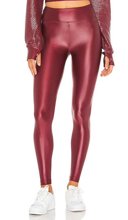 Lustrous High Rise Legging KORAL $88 Sustainable