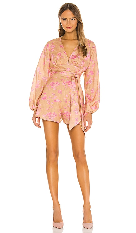 Fallen Long Sleeve Romper keepsake $106