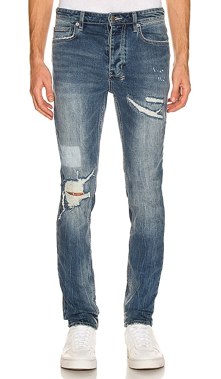 JEAN DISTRESSED RAGE Ksubi $240