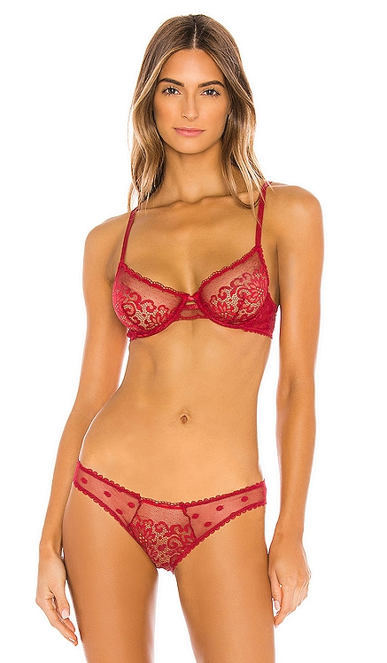 SOUTIEN-GORGE SCARLET KAT THE LABEL $69