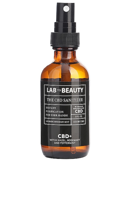 DÉSINFECTANT POUR LES MAINS TRAVEL CBD LAB TO BEAUTY $25