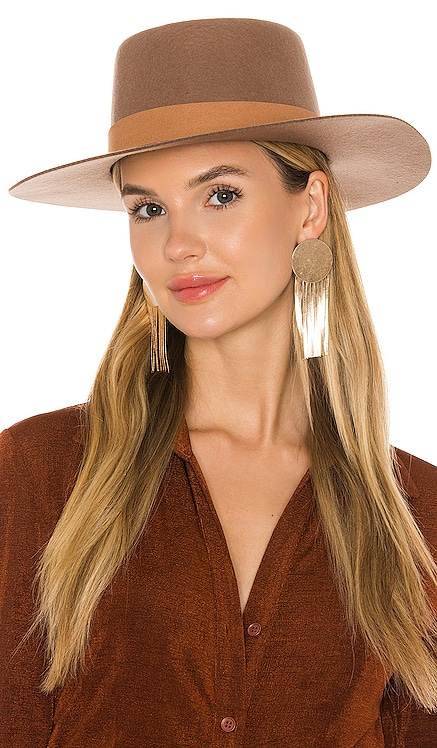 The Mirage Boater Hat Lack of Color $119