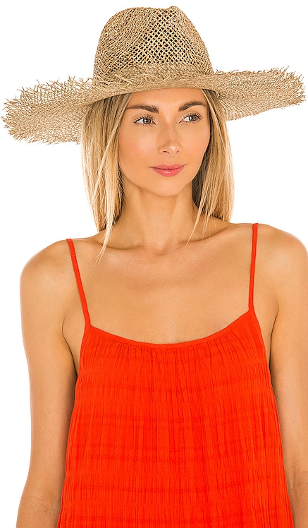 Sunnydip Fray Fedora Lack of Color $89 NEW
