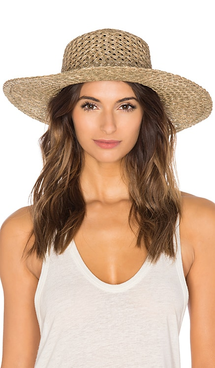 The SunnyDip Wide Brimmed Hat Lack of Color $79