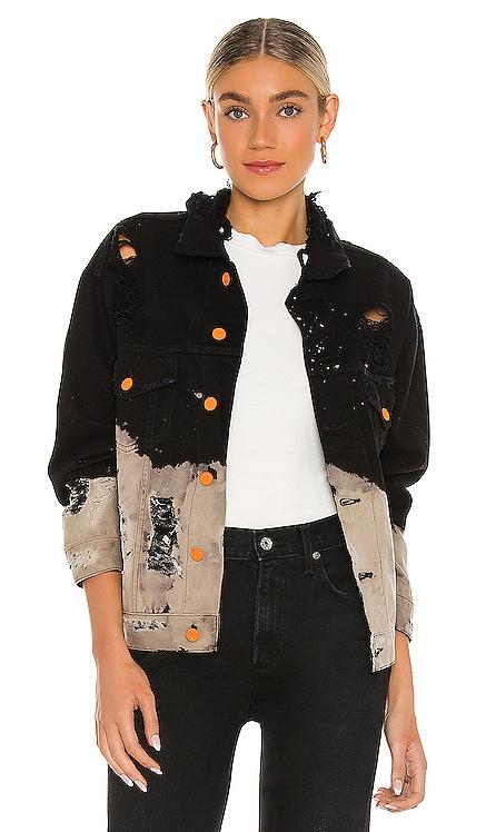 Savage Acid Wash Denim Jacket La Detresse $515