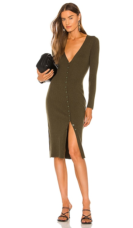 Maci Button Duster Dress L'AGENCE $395