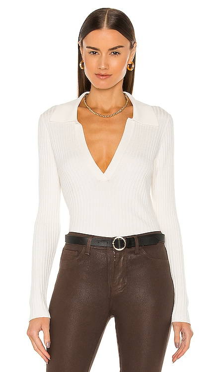 Evie Collared Sweater L'AGENCE $320
