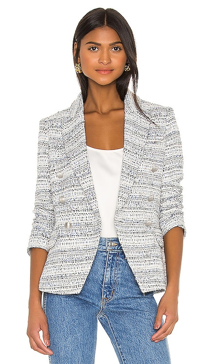 Kenzie Double Breasted Blazer L'AGENCE $358