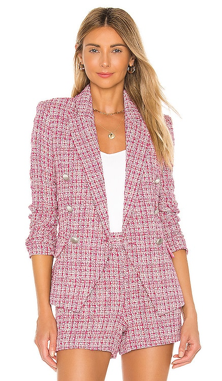 Kenzie Double Breasted Blazer L'AGENCE $625 NEW