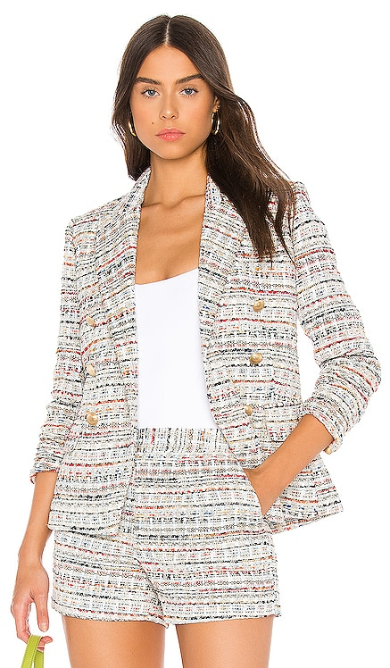 Kenzie Double Breasted Blazer L'AGENCE $595 NEW