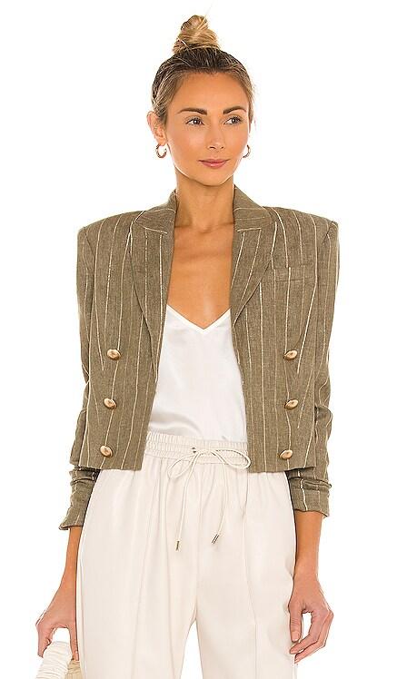 Inez Crop Blazer L'AGENCE $395